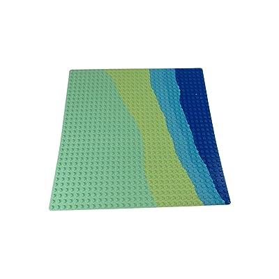 LEGO Beach Pattern 32 x 32 dot Mint Green Baseplate: Toys & Games