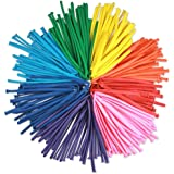 100 Premium Quality 260Q Twisting Animal Latex?Balloons: Assorted Color Latex 260 Q Balloon long balloons for Parties, Birthdays, Clowns by cboss
