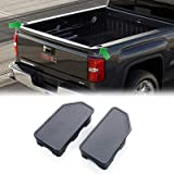 Yumzeco Bed Rail Stake Pocket Covers Compatible with 2014-2018 GMC Sierra 1500/2014-2018 Chevy Silverado 1500/2500…