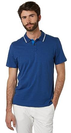 Tom Tailor - Polo - para Hombre Azul XXL: Amazon.es: Ropa y accesorios