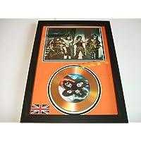 gold disc frames Kiss firmado disco de oro