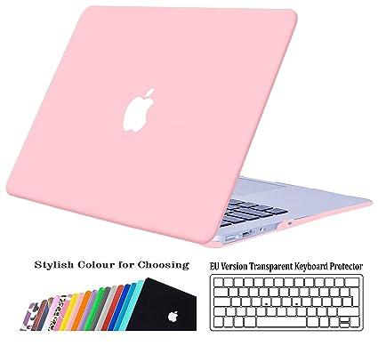 iNeseon Funda para MacBook Air 13 (Modelo A1466 A1369), Delgado Carcasa Case Duro y Cubierta del Teclado para Apple MacBook Air 13.3 Pulgadas (Versión ...