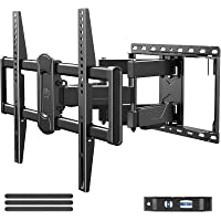 Mounting Dream Full Motion TV Wall Mount Swivel and Tilt for 42-75 Inch Flat Screen TVs, TV Mounts Bracket with…