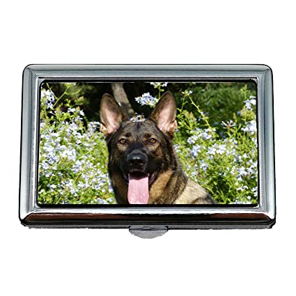 Amazon Com Cigarette Storage Case Box German Shepherd Dog Pet Happy