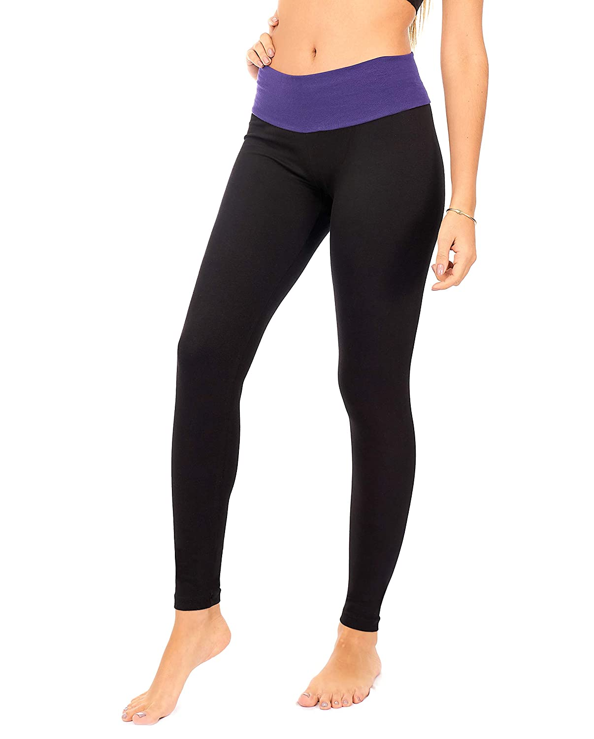 DEAR SPARKLE Yoga Pants with Pocket | Lounge Leggings High Waist Workout Sweatpants (C12)