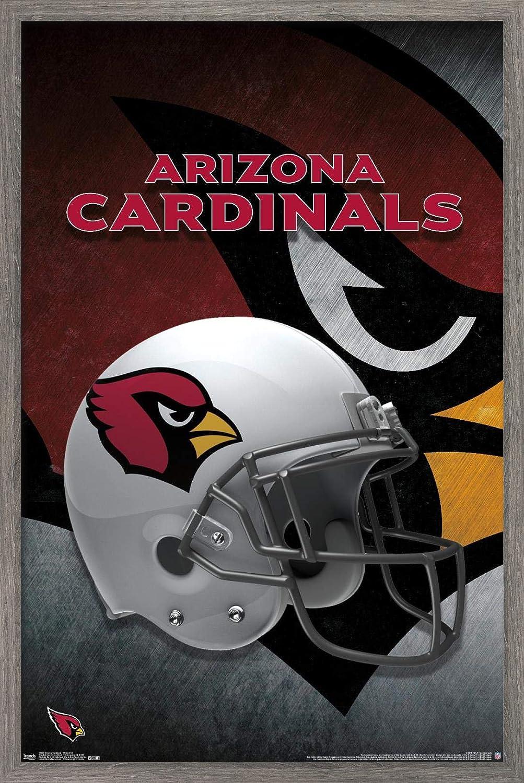 Trends International NFL Arizona Cardinals - Helmet 15 Wall Poster, 22.375