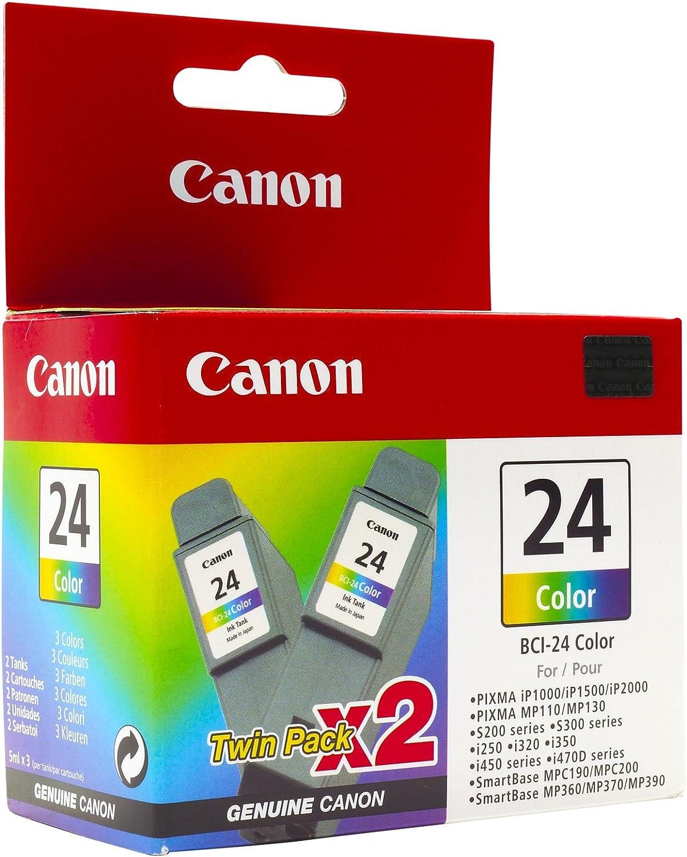 Canon BCI-24 Colour Twin Pack - paquete de 2: Amazon.es: Electrónica