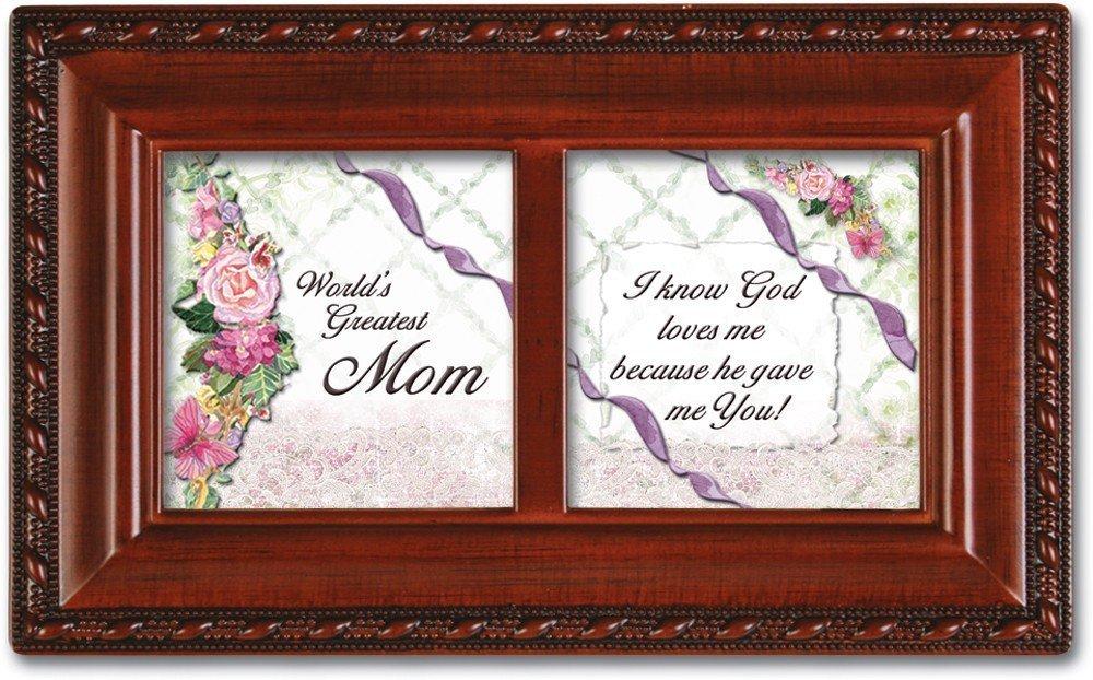 【本物保証】 [コテージ ガーデン]Cottage Garden Worlds Greatest Mom Mom Box Mother Inspirational Garden Woodgrain Petite Music Jewelry Box Plays Ave Maria PMC8034S [並行輸入品] B003AKDAFE, イマイチシ:561eb371 --- arianechie.dominiotemporario.com