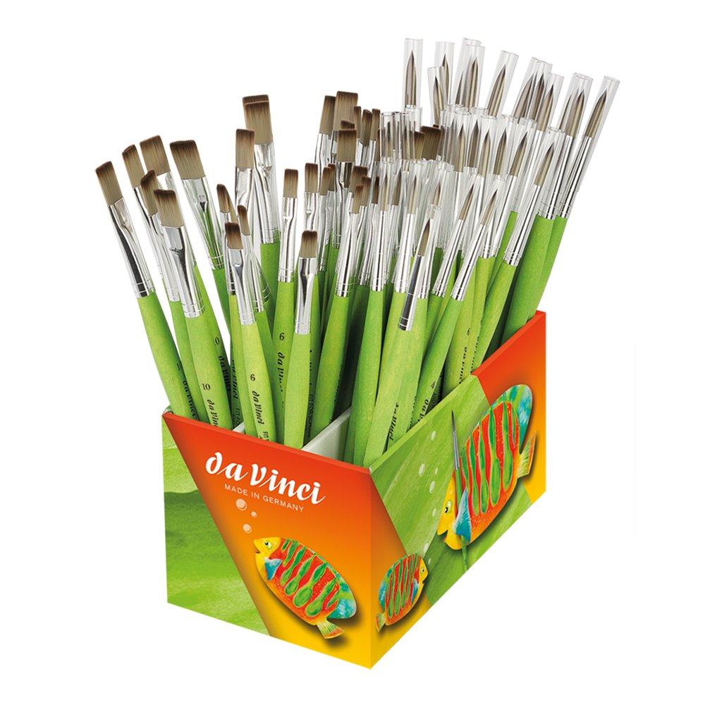da Vinci 4090FIT Box-93 Brushes, Rounds And Flats