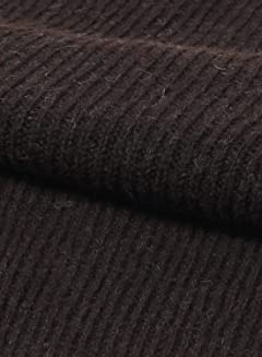 Harley of Scotland Voe True Shetland Rib Crewneck Sweater 4141-7: Black