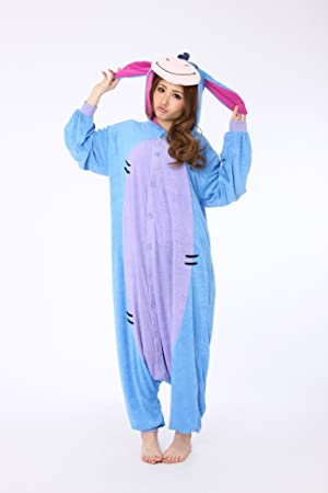 4f5469b275a1 Japan Sazac Original Kigurumi Pajamas Halloween Costumes Eeyore Winnie the  Pooh (japan import)