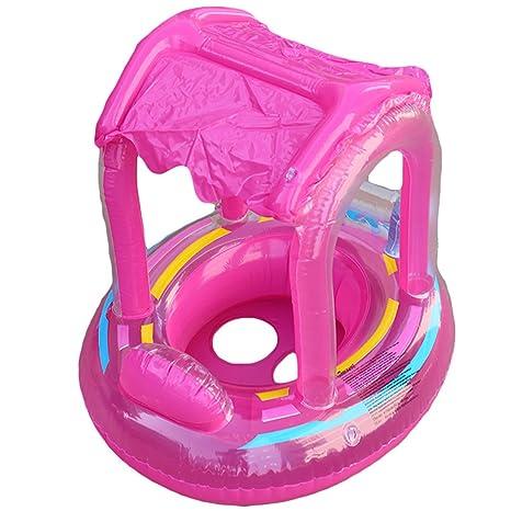 Clerfy Acc 6-18 Meses bebé Flotador de Seguridad bebé Niños Hinchable Natación Agua Flotador
