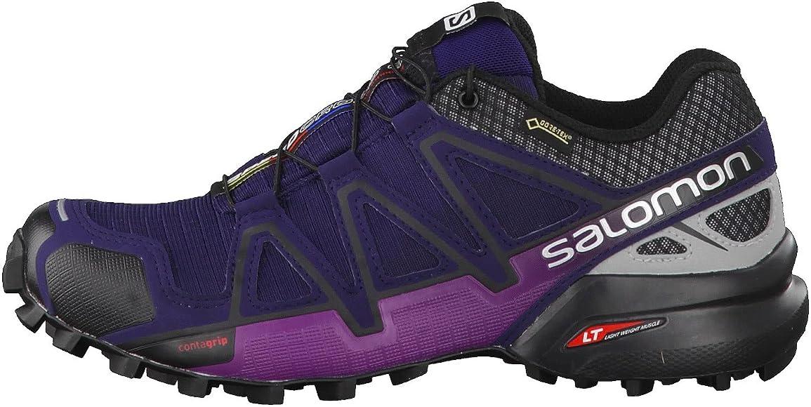 Salomon Speedcross 4 Nocturne GTX W, Zapatillas de Senderismo para ...