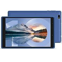 Tablet 8 inch, Android10.0 HD Display Tablets, Quad-Core Processor, 3 GB RAM, 32 GB Storage, Dual Camera, GPS, FM, Wi-Fi - (Blue)