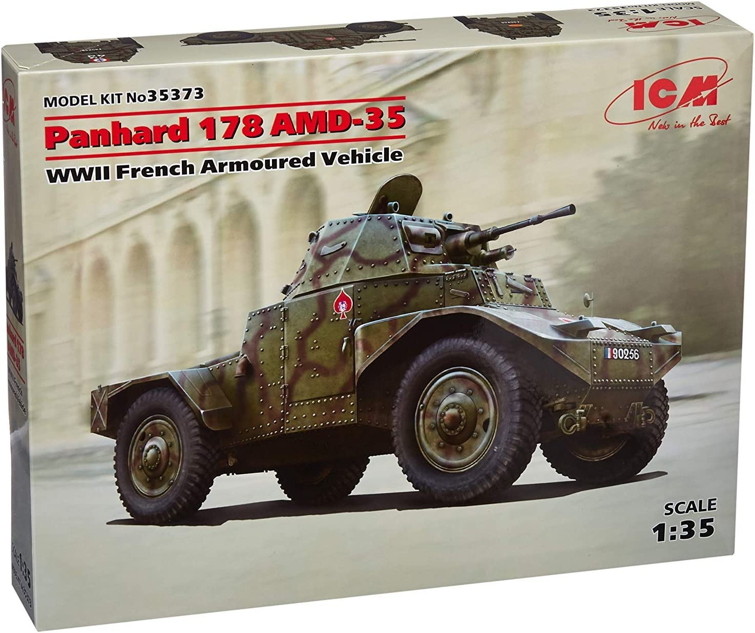 ICM ICM35373 1:35-Panhard 178 AMD-35