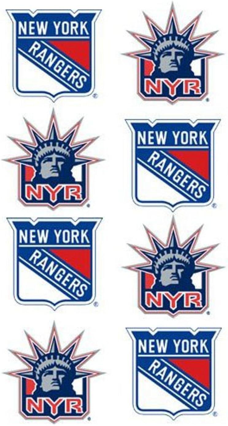 Rico Industries NHL Face Tattoos 8-Piece Set