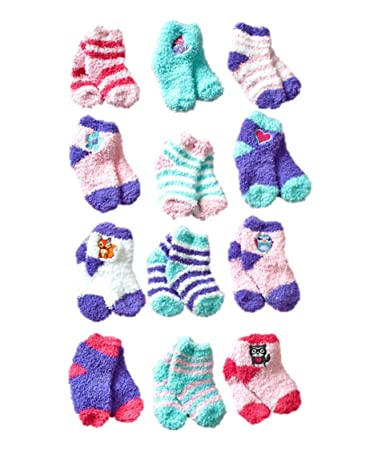 Amazon Com Lovely And Cute Super Soft Warm Winter Baby Socks 12
