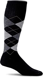 product image for Sockwell Men's Argyle Moderate Graduated Compression Sock
