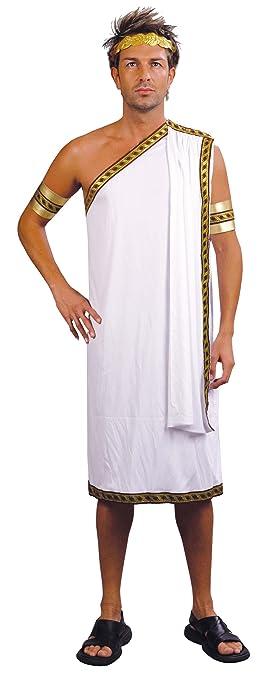 Disfraz de griego para hombre Talla única: Amazon.es ...