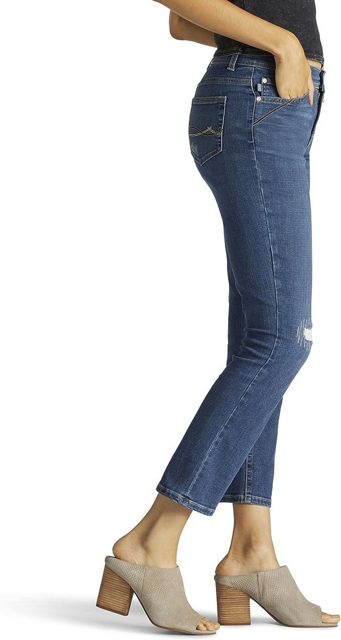 Amazon Com Lee Kyla Capri Jean Pantalones Cortos Para Mujer Clothing