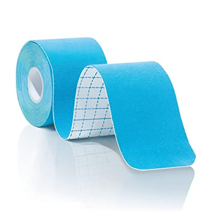 Kitape - Banda de kinesiotaping/ mantenimiento articulatorio de larga duración con calidad profesional – Mejora las prestaciones / alivio de dolor ...