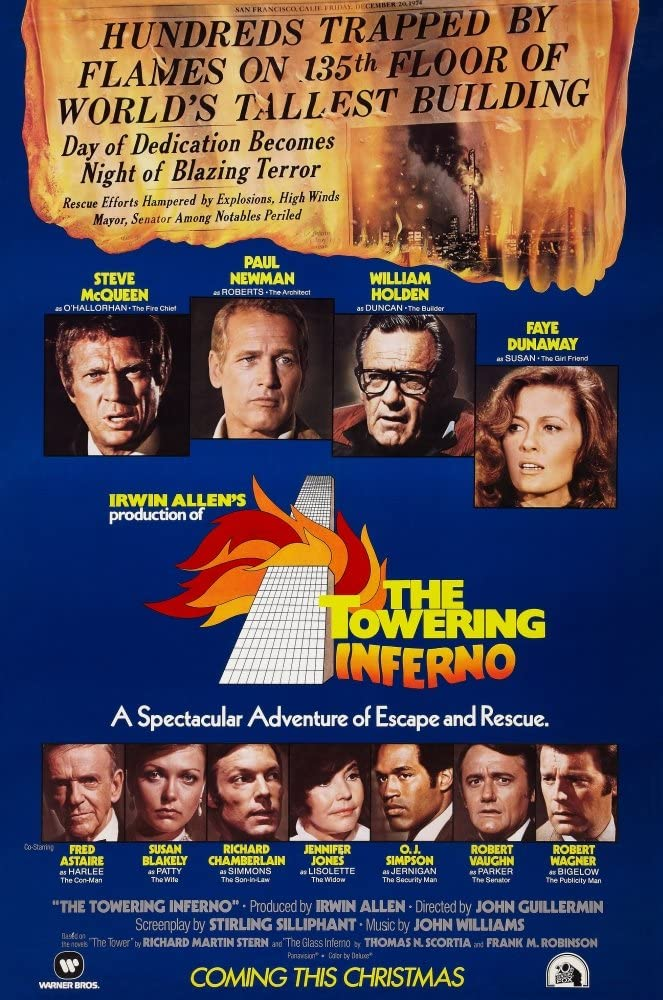 Posterazzi EVCMCDTOINFE011 The Towering Inferno Movie Poster Masterprint, 11 x 17