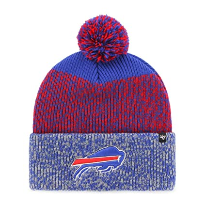 Image Unavailable. Image not available for. Color   47 Buffalo Bills Beanie  Static Cuff Knit Hat ea432b0b3362