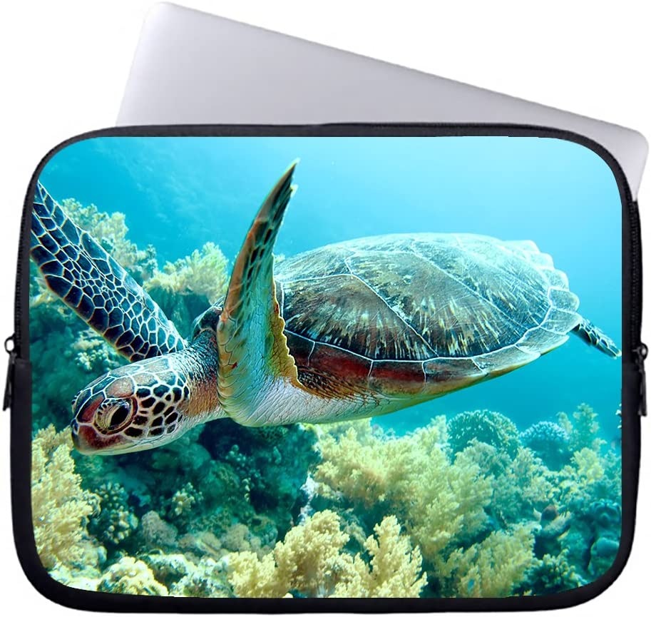 Neafts 17 17.3 Inch Sea Turtles Beach Water-resistant Neoprene Laptop Sleeve Case Cover Bag for Notebook Computer Ultrabook Laptop Tablet MacBook Pro or Ultrabook