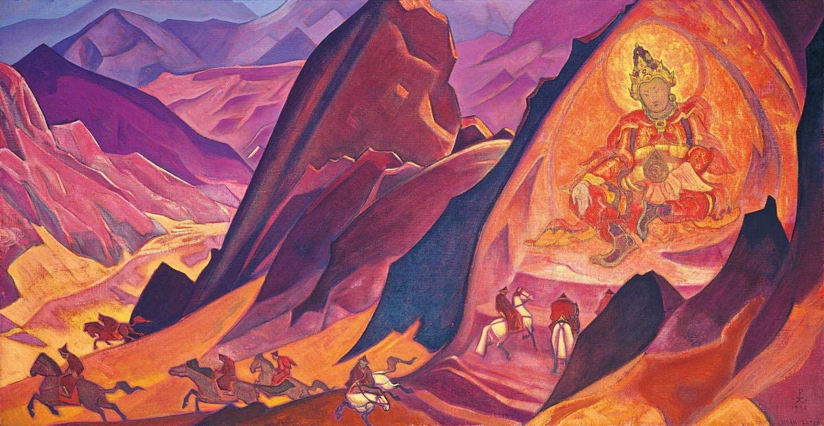 Nicholas Roerich Easter Night Giclee Canvas Print Paintings Poster Reproduction