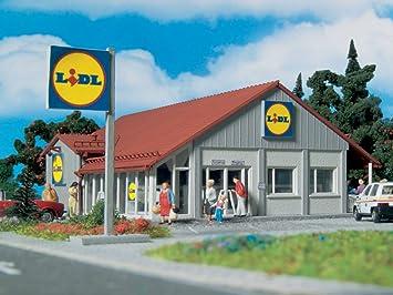 Vollmer 3662 H0 - Supermercado Lidl [Importado de Alemania]