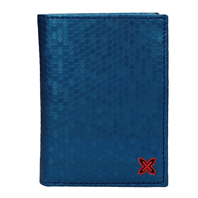Cartera para Hombre Munich Party - Color: Azul (8,5 x 11,5 ...