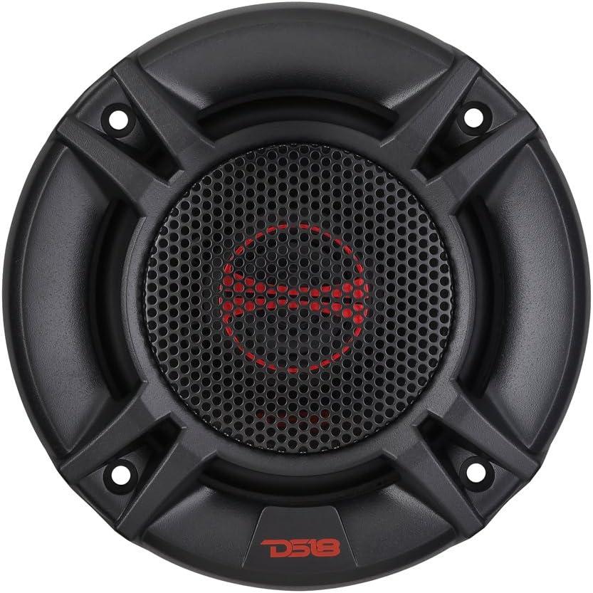 "DS18 GEN-X4 4/"" 2-Way Coaxial Speakers 120 Watts Max Power 4 ohm GEN Series"