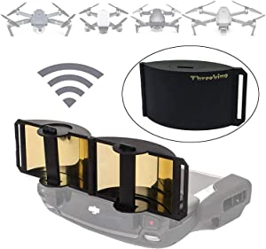 Threeking Foldable Parabolic Signal Booster Range Extender Antenna Extender Compatible for DJI Mavic Mini Mavic Pro Mavic 2 Spark Mavic Air 1 Remote Controller NOT for Mavic Air 2