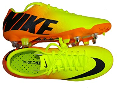 chaussure foot nike jaune