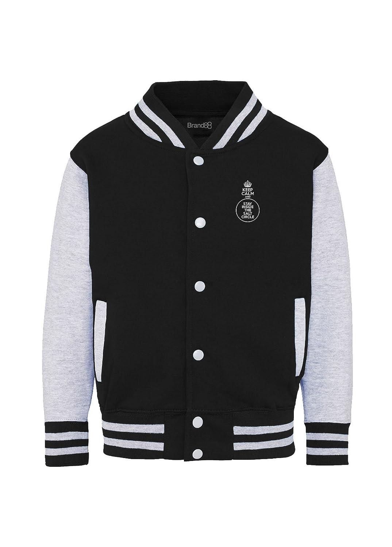 Kinder College Uni-Jacke Brand88 Keep Calm and Stay Inside The Salt Circle Kapuzenpullover