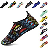 Coolloog Unisex Water Shoes Barefoot Quick-Dry Aqua Yoga Socks Beach Exercise Shoes for Men Women Kids