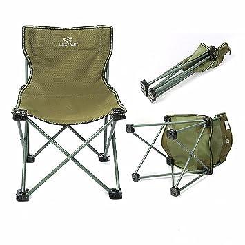 hy-sedia plegable Outdoor Aviación ligera de aluminio silla ...