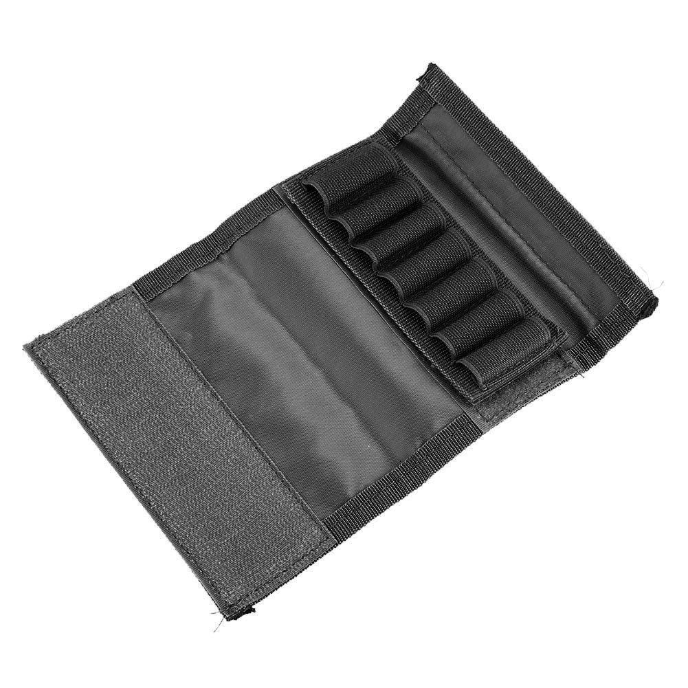 Soporte T/áctico para Pistola de Escopeta con 7 Soportes de Carcasas VINILO Soporte para Rifle Ajustable Army Green