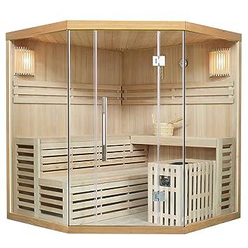 Traditionelle Saunakabinefinnische Sauna Espoo 180 X 180 Cm 8 Kw