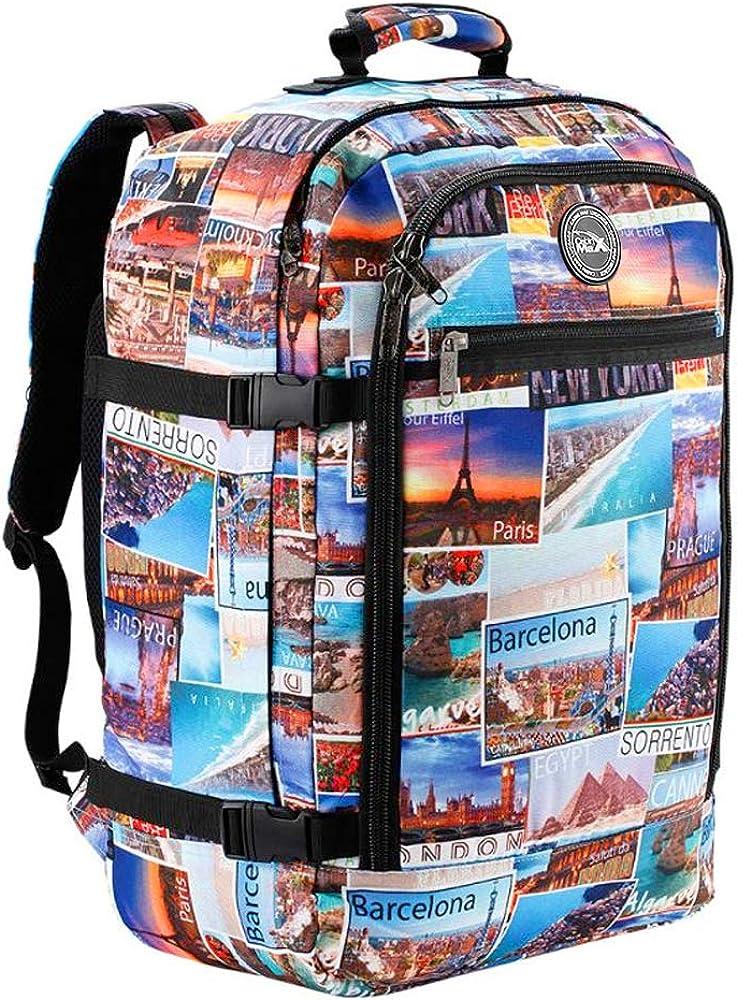Cabin Max Metz Mochila para hombres y mujeres aprobada por vuelo, bolsa de equipaje de mano masiva de 44 litros, equipaje de mano de 22 x 14 x 9 – Tamaño perfecto para Southwest Airlines y mucho más.