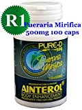 Ainterol Pueraria Mirifica 500mg Pure-D R1 Capsules 100% New Stronger Strain - Grown in Thailand