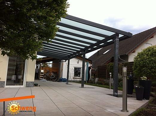 Dosel para terraza fabricado con placas de policarbonato de 16 mm ...
