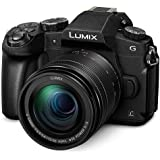 "Panasonic DMCG85MK 16 Digital Camera with 5X Optical Image Stabilized Zoom with 3"" LCD, Black"
