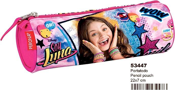 Soy Luna - Soy Luna - Estuche portatodo en Forma de Tubo (Montichelvo MC-53447) (Montichelvo 53447): Amazon.es: Equipaje