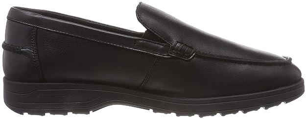 24 HORAS 10420, Mocasines para Hombre, (Negro 7), 43 EU: Amazon.es: Zapatos y complementos