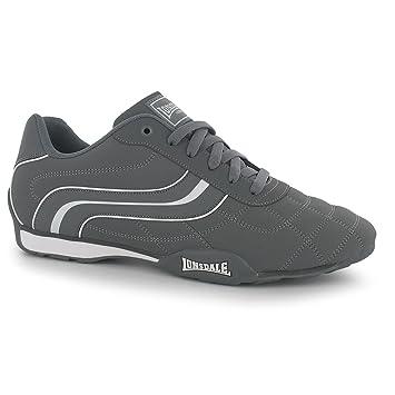 ea10dc60 Lonsdale Camden - Zapatillas de Deporte para Hombre, Color Gris y Blanco:  Amazon.es: Deportes y aire libre