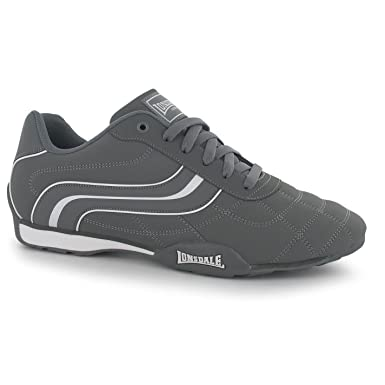 detailing cheap for sale clearance sale Lonsdale Camden Trainers Mens Grey/White Casual Sneakers Shoes ...