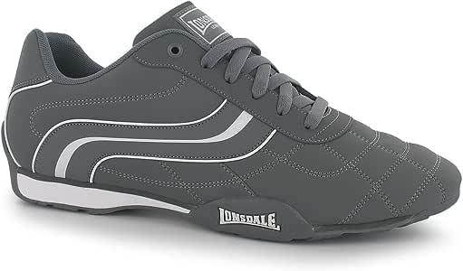 Lonsdale Camden – Zapatillas de Deporte para Hombre Gris/Blanco ...