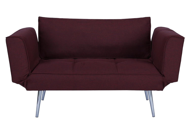Amazon.com: Sofá cama de Futon Premium con tejido de sarga ...