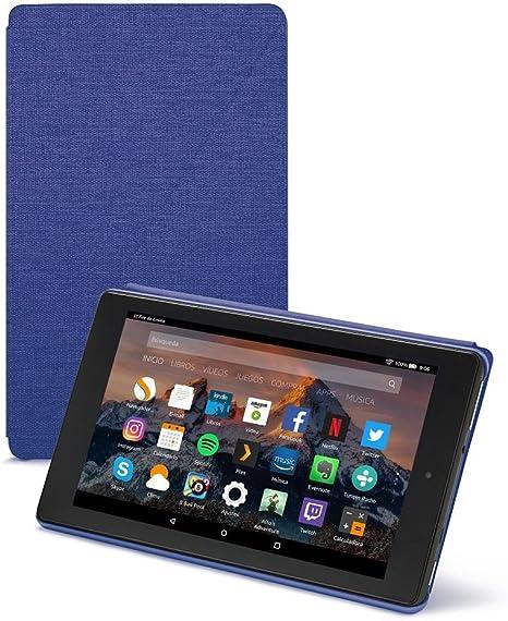Image ofAmazon - Funda para Fire HD 8 (tablet de 8 pulgadas, 7ª y 8ª generación, modelos de 2017 y 2018), Morado